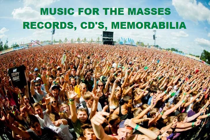 Records, CD's and memorabilia by all your favourite artists