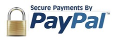 Pay securely with any major credit card