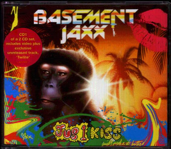 Basement Jaxx Jus 1 Kiss Records, Vinyl And CDs