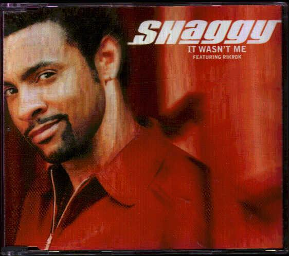 Shaggy It Wasnt Me Cd 4 Tracks Radio Edit Vocal 12 Inch