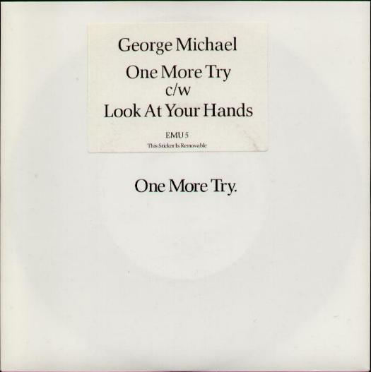GEORGE MICHAEL - One More Try Record