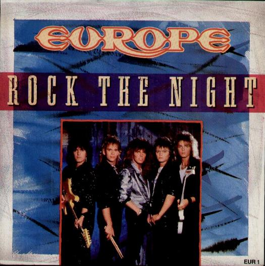 EUROPE - Rock The Night Single