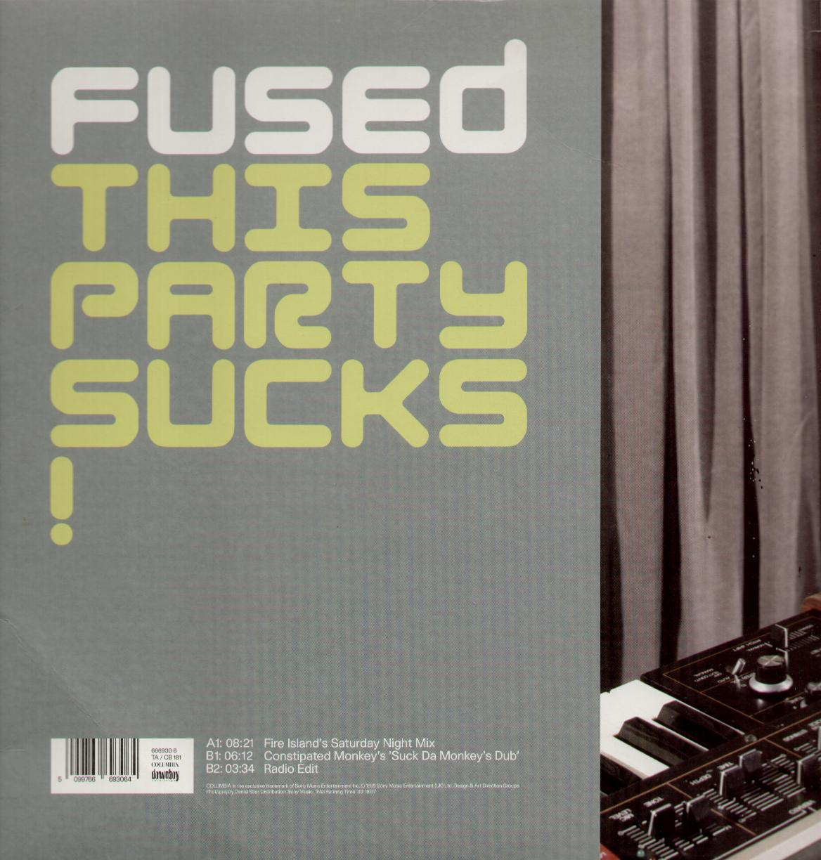FUSED - This Party Sucks Album