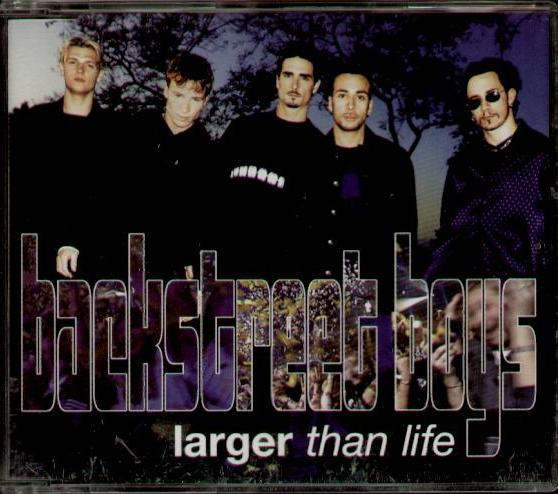 BACKSTREET BOYS - Larger Than Life Album