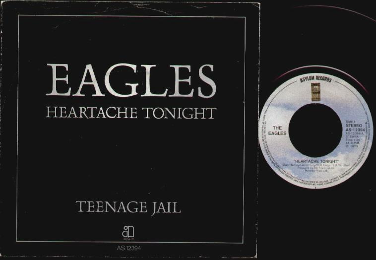 EAGLES - Heartache Tonight Album