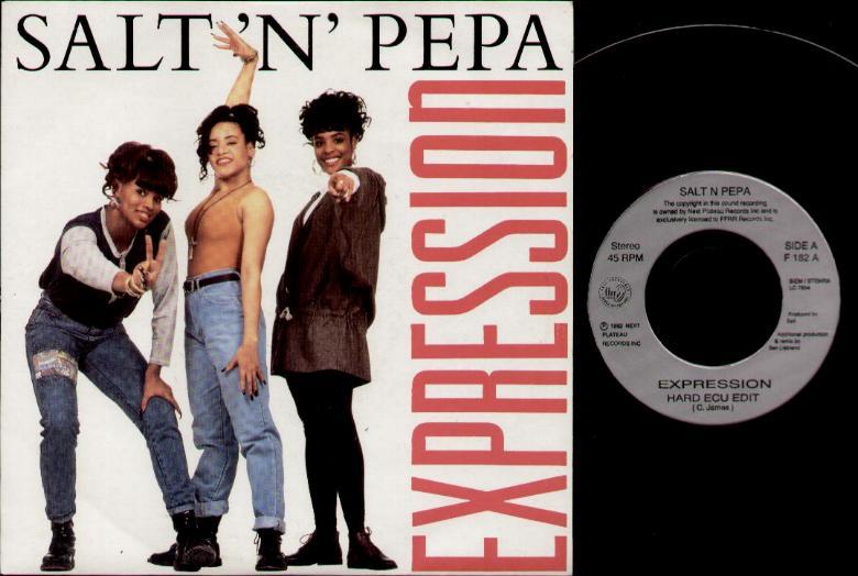 SALT N PEPA - Expression Record