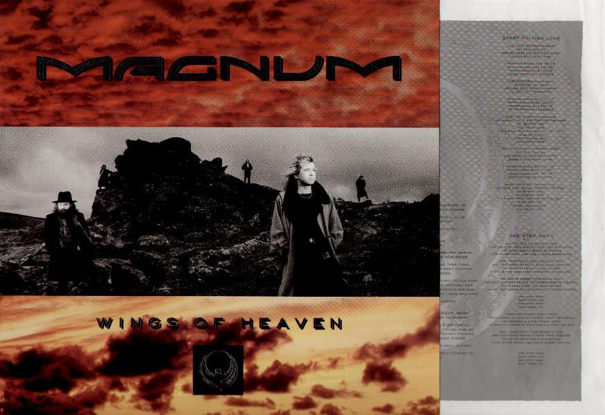 MAGNUM - Wings Of Heaven LP