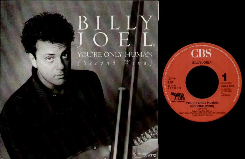 BILLY JOEL - You're Only Human CD