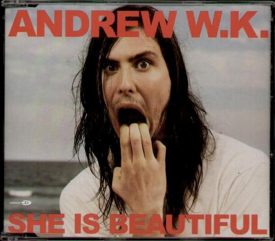 andrew wk w k    she is