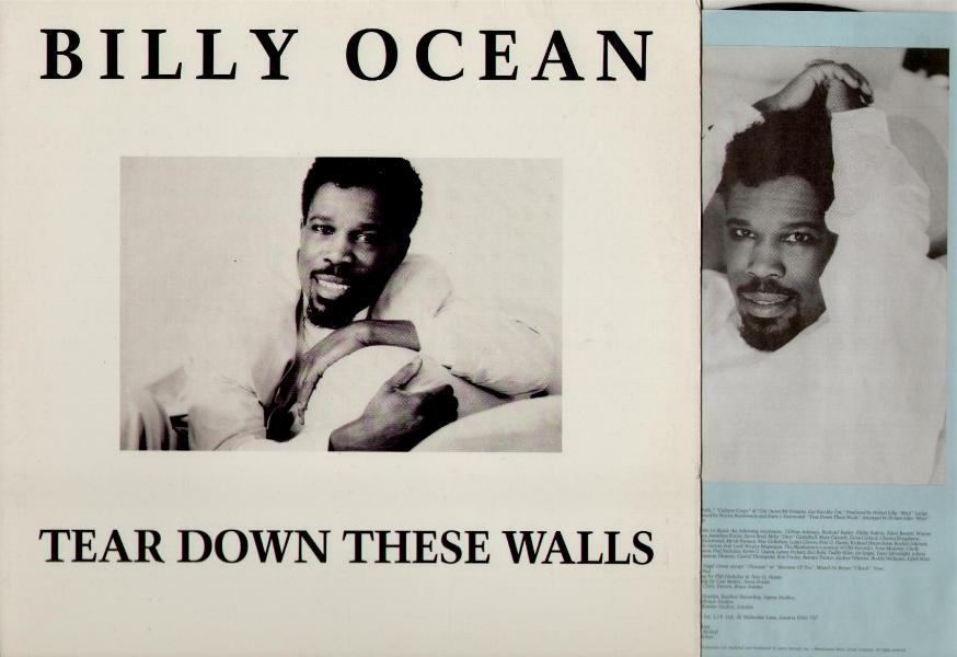 Billy Ocean Tear Down These Walls Records Lps Vinyl And