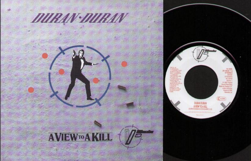 DURAN DURAN - A View To A Kill LP