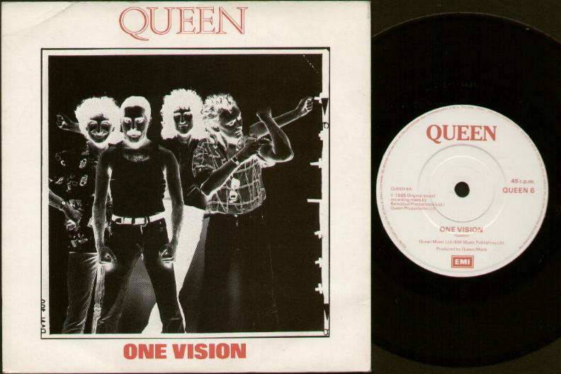 QUEEN - One Vision LP