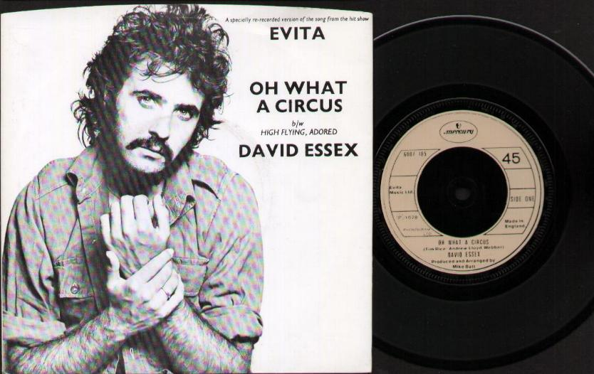DAVID ESSEX - Oh What A Circus CD