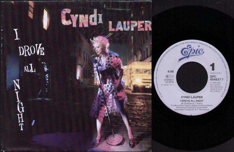 Cyndi Lauper i Drove All Night Album Cyndi Lauper i Drove All
