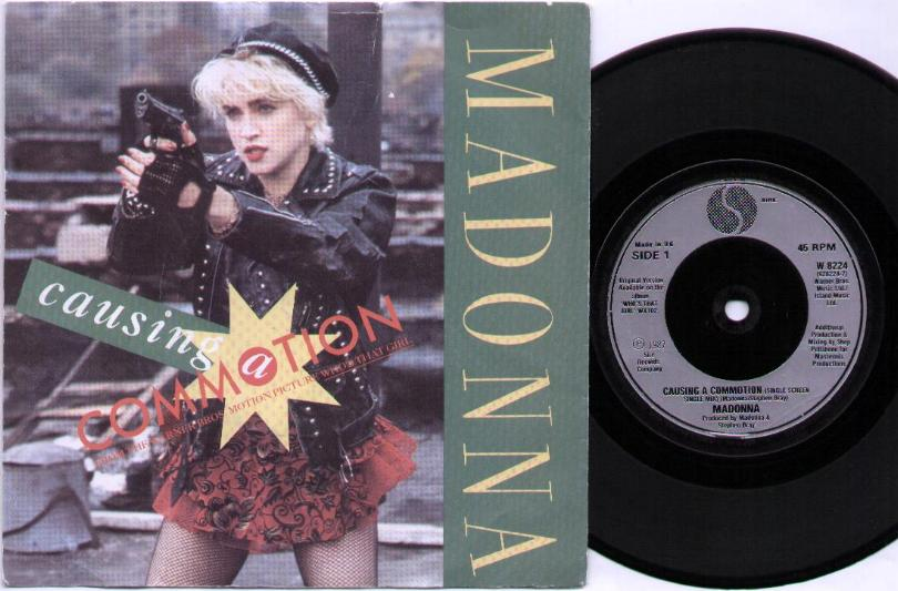 MADONNA - Causing A Commotion LP