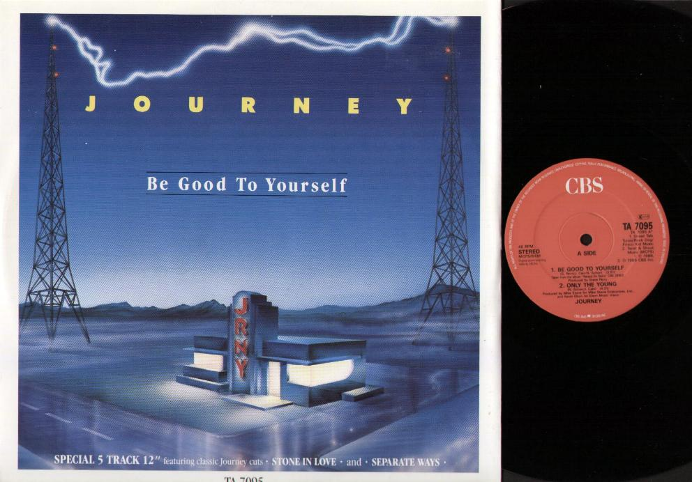 Journey Be Good To Yourself Records Lps Vinyl And Cds