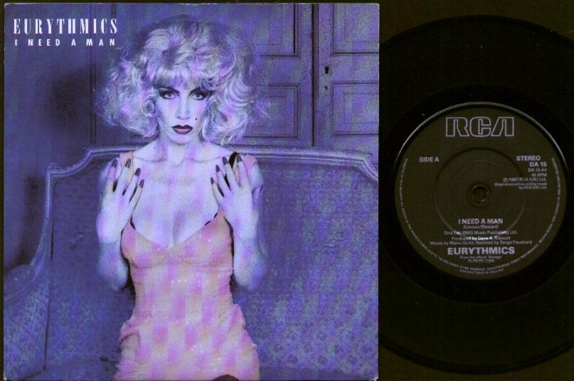 EURYTHMICS - I Need A Man LP