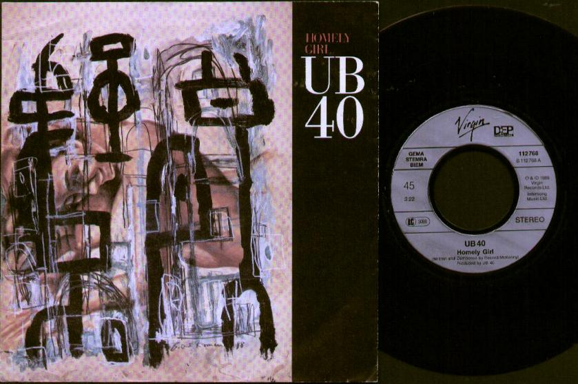 UB40 - Homely Girl CD