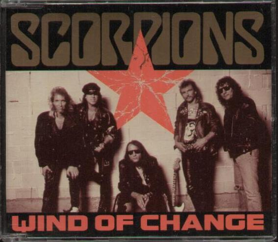 SCORPIONS - Wind Of Change Album
