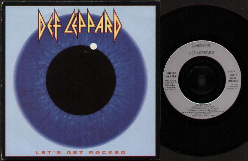 DEF LEPPARD - Lets Get Rocked Album