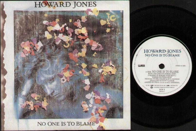 Howard Jones No One Is To Blame Records Lps Vinyl And