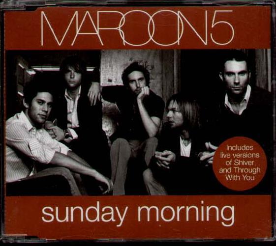 Sunday Morning Maroon 5