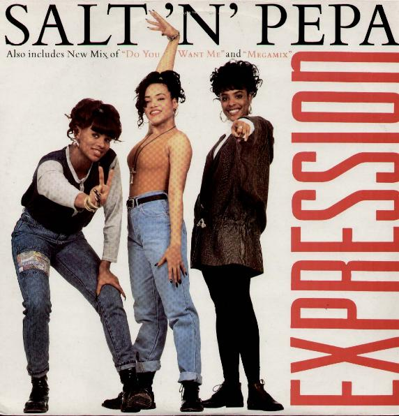 SALT N PEPA - Expression Hard Ecu Mix