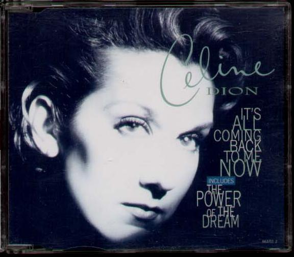 Celine dion its all coming back to me