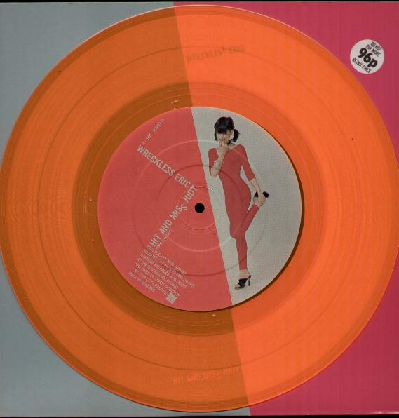 Wreckless Eric Hit And Miss Judy Records Lps Vinyl And