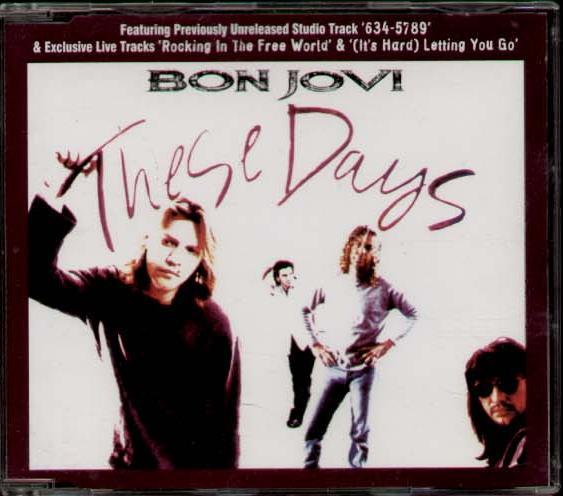 BON JOVI - These Days Album