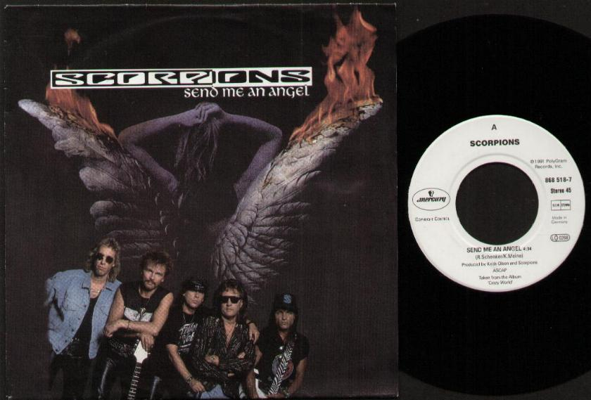 SCORPIONS - Send Me An Angel CD