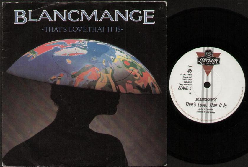 BLANCMANGE - That's Love That It Is Record