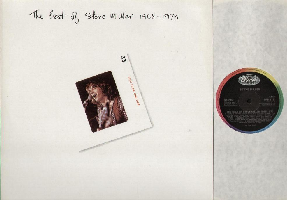 The Best Of Steve Miller 1968-1973 - STEVE MILLER