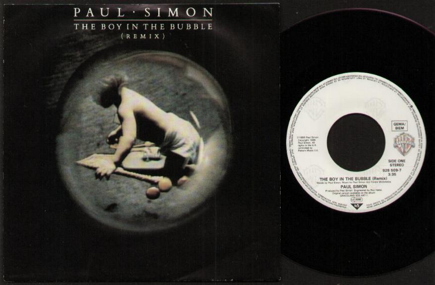 PAUL SIMON - The Boy In The Bubble (remix)
