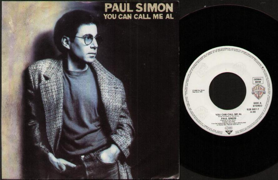 You Can Call Me Al - PAUL SIMON