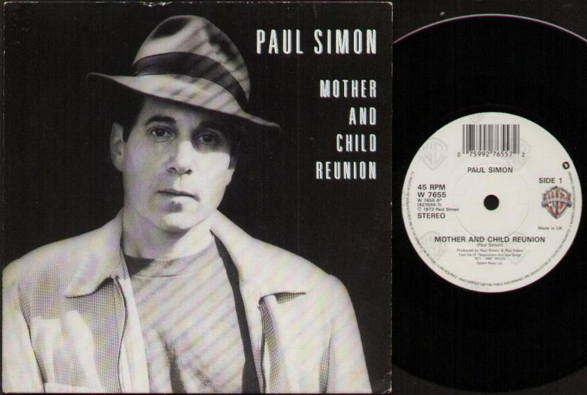PAUL SIMON - Mother And Child Reunion Album