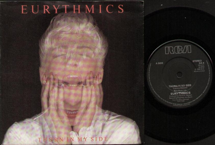EURYTHMICS - Thorn In My Side LP
