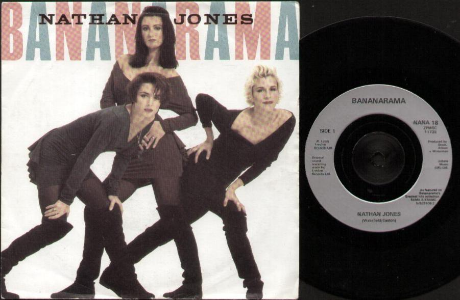 BANANARAMA - Nathan Jones CD