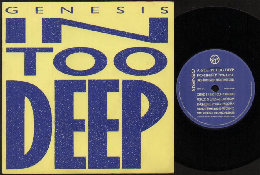 Genesis In Too Deep Records Lps Vinyl And Cds Musicstack