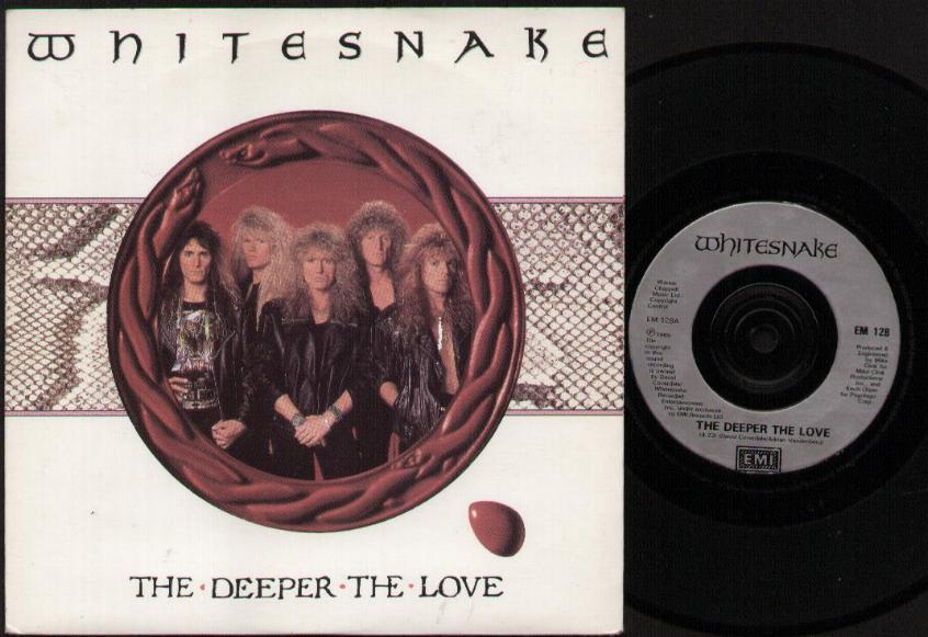 WHITESNAKE - The Deeper The Love Album