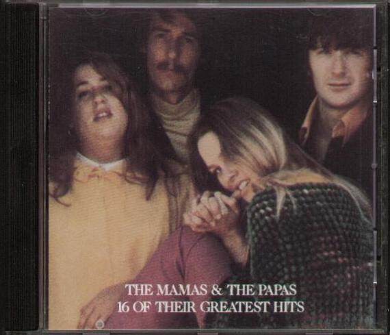 MAMAS & THE PAPAS - 16 Of Their Greatest Hits CD