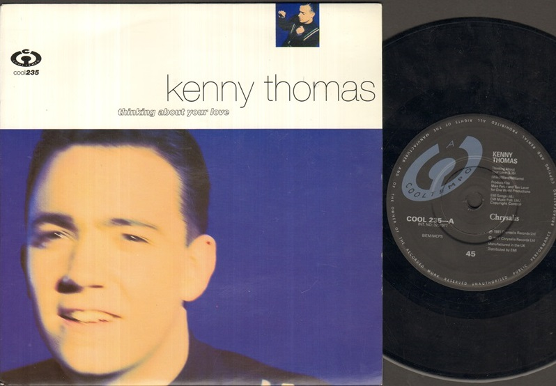 KENNY THOMAS - Thinking About Your Love Album