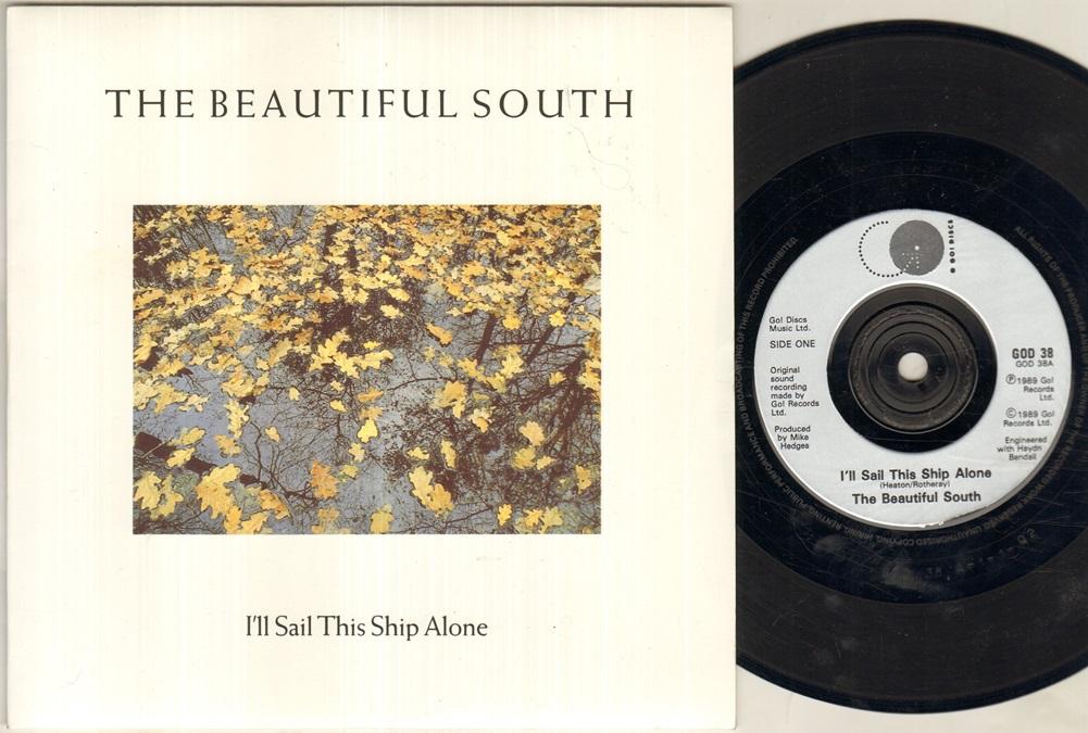 BEAUTIFUL SOUTH - I'll Sail This Ship Alone Single